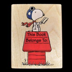 SNOOPY RED BARON DOGHOUSE BOOK Peanuts Character